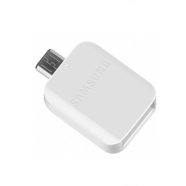 ADAPTER HOST OTG USB NA MICRO SAMSUNG PRZEJŚCIÓWKA GH98-09728A BIAŁY