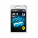 PENDRIVE INTEGRAL 32GB DRIVE NEON BLUE USB 3.0 INFD32GBNEONB3.0