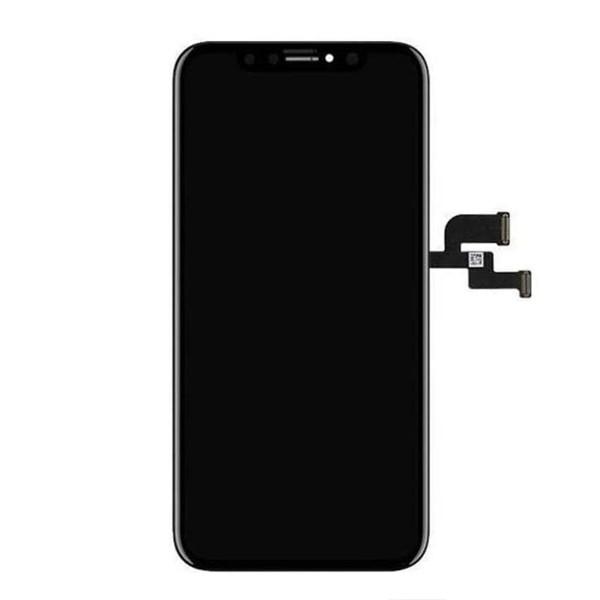 MODUŁ WYŚWIETLACZ OLED + DIGITIZER IPHONE X CZARNY EKRAN DOTYKOWY DIGI DOTYK APPL QUALITY OLED HARD LCD
