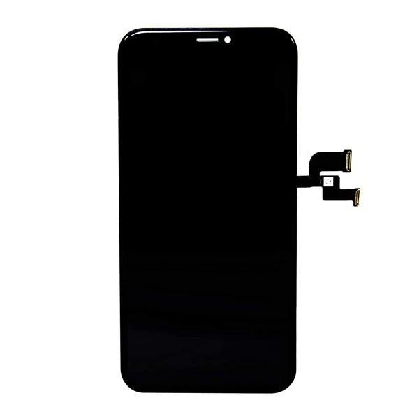 MODUŁ WYŚWIETLACZ OLED + DIGITIZER IPHONE XS CZARNY EKRAN DOTYKOWY DIGI DOTYK APPL QUALITY LCD HARD