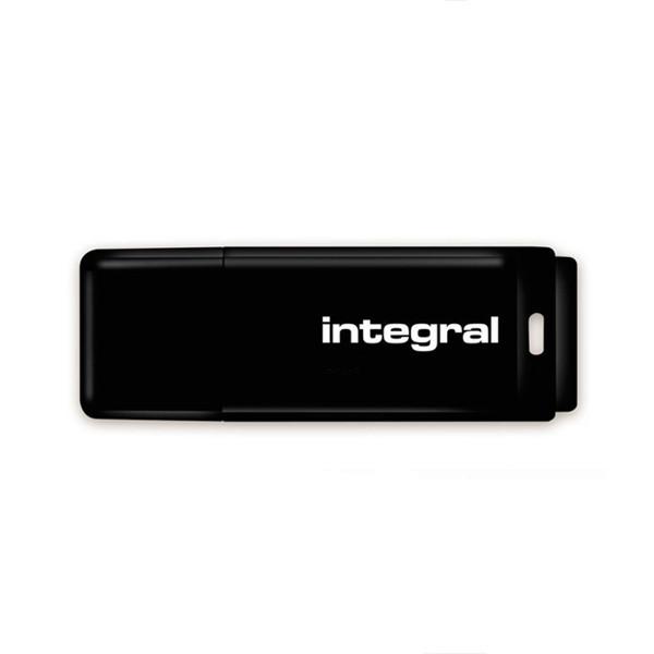 PENDRIVE INTEGRAL 128GB DRIVE BLACK INTE USB 2.0 INFD128GBBLK