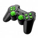 PAD PRZEWODOWY PS3  PC GAMEPAD TROOPER ESPERANZA CZARNY ZIELONY USB ESPE