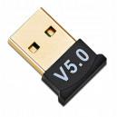 ADAPTER BLUETOOTH USB A2DP UNIWERSALNY PRZEJŚCIÓWKA CZARNY V5