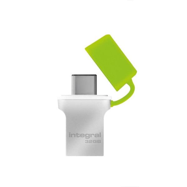 PENDRIVE INTEGRAL FUSION 32GB USB 3.0 DRIVE TYP-C USB-C INFD32GBFUS3.0-C