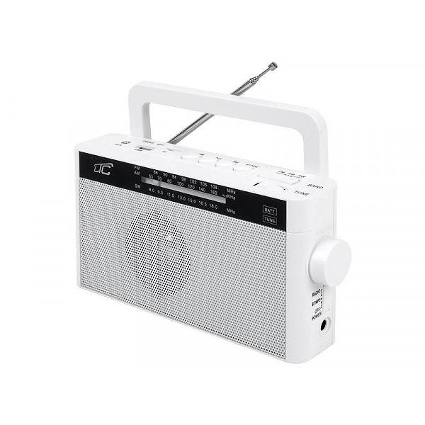RADIO PRZENOŚNE LTC SONA BT AM FM MP3 USB SD BIAŁY
