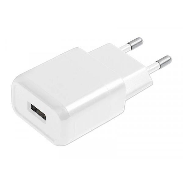 ŁADOWARKA SIECIOWA USB 1A BIAŁA LTC 1000mAh