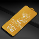 SZKŁO SOMOSTEL IPHONE XR 11 PROFILOWANE HARTOWANE FULL COVER 10DG CZARNA RAMKA 6,1 CALA