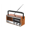 RADIO PRZENOŚNE LTC RETRO BT AM FM MP3 USB SD WBUDOWANY AKUMULATOR