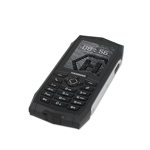 TELEFON HAMMER 3 WZMOCNIONY SREBRNY