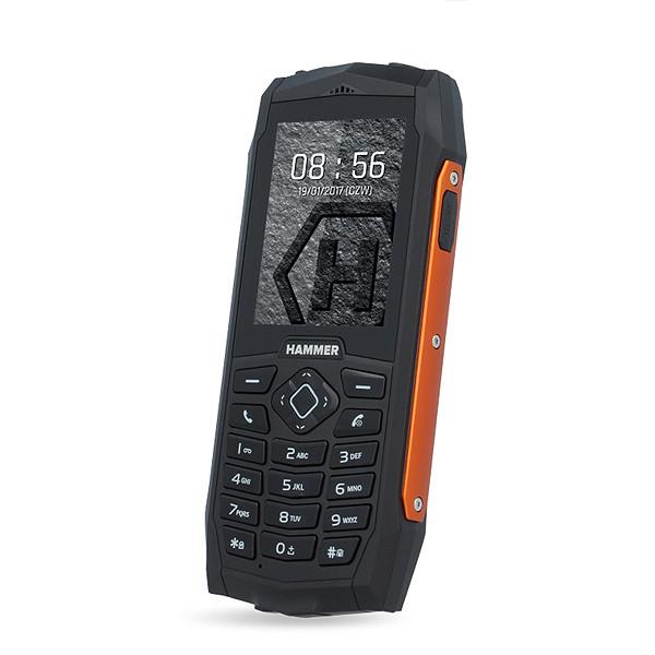TELEFON HAMMER 3 WZMOCNIONY POMARAŃCZOWY