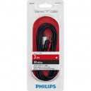 KABEL STEREO 1,5M PHILIPS CHINCH RCA DO JACK 3,5 CALA