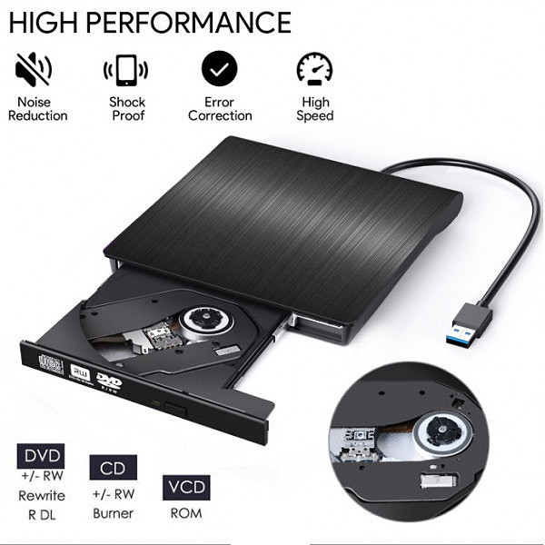 NAGRYWARKA ZEWNĘTRZNA DVD USB 3.0