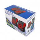 GŁOŚNIKI 2.0 USB FLAMENCO CZARNO-CZERWONE PC ESPERANZA