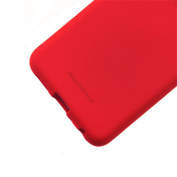 MERCURY SOFT FEELING IPHONE 10 X XS CZERWONY ETUI NAKŁADKA BACK COVER CASE JELLY