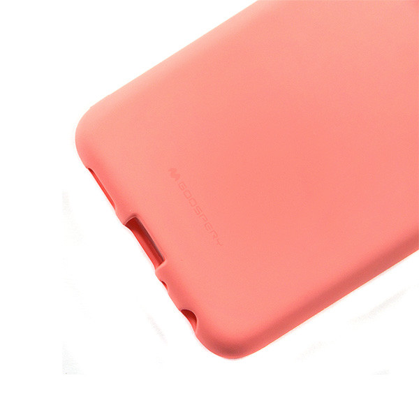 MERCURY SOFT FEELING IPHONE 10 X XS RÓŻOWY ETUI NAKŁADKA BACK COVER CASE JELLY
