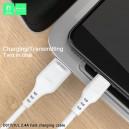 KABEL USB MICRO DENMEN BIAŁY 1M D01V