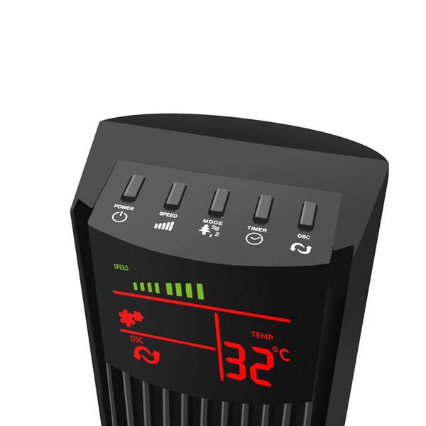 WENTYLATOR KOLUMNOWY 92CM 50W LCD + PILOT WT26