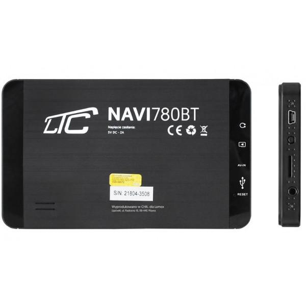 NAWIGACJA GPS SAMOCHODOWA LTC OTWARTY WINDOWS 780BT 256mb/8gb