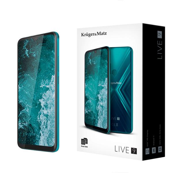 SMARTFON KRUGER&MATZ LIVE 9 ZIELONY KM0497-B ANDROID 11 4GB/64GB