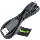 KABEL USB MICRO MOTOROLA CZARNY TRANSMISJI DANYCH ORYGINALNY SKN6378A