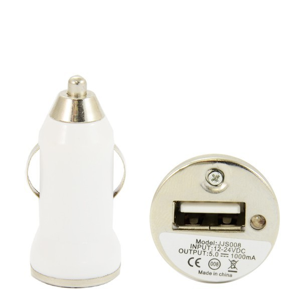 ŁADOWARKA SAMOCHODOWA USB 1A BIAŁA VEGA BASIC 1000mAh BOX