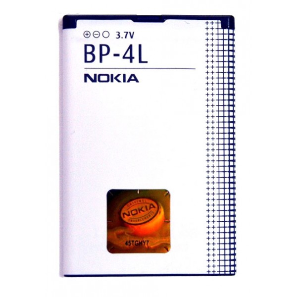 BATERIA NOKIA E52 E63 E71 E72 E90 N97 BP-4L 1500mAh BULK mob10