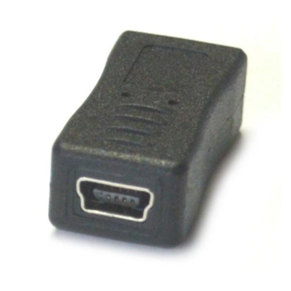 ADAPTER MINI USB NA MICRO USB PRZEJŚCIÓWKA ŁADOWANIE I TRANSMISJA