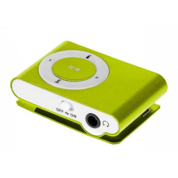 ODTWARZACZ MP3 + CZYTNIK KART ZIELONY QUER  BOX