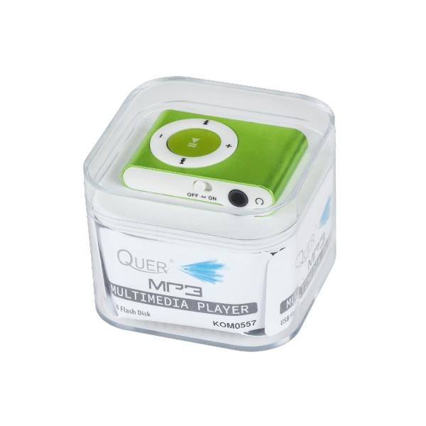 ODTWARZACZ MP3 + CZYTNIK KART ZIELONY BOX